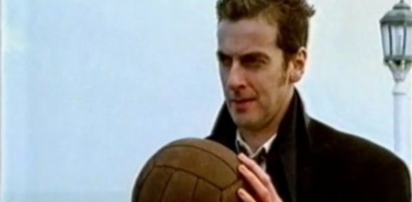 "Peter Capaldi in ""I Hate Christmas Too"" (BBC, 1997)."